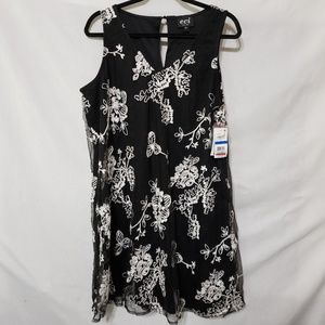 ECI Mesh w/Crochet Design Dress (BB B33)